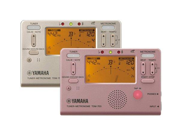画像1: YAMAHA TDM-700 チューナー&メトロノーム (1)