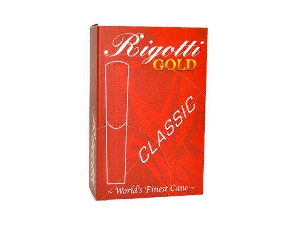 画像1: Rigotti GOLD サックス用リード クラシックモデル (1)